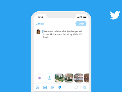Twitter introduces voice tweets, for iOS users
