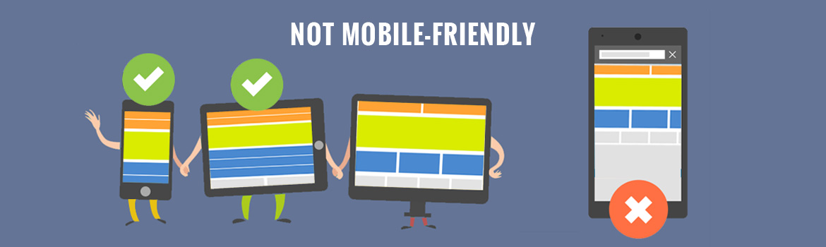 Not mobile-friendly
