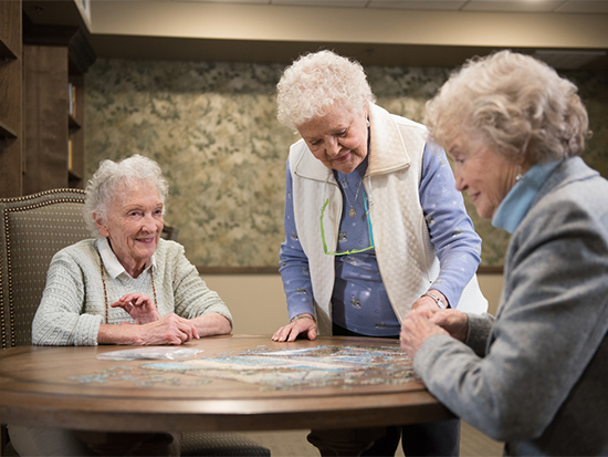 Assisted And Senior Living Facility